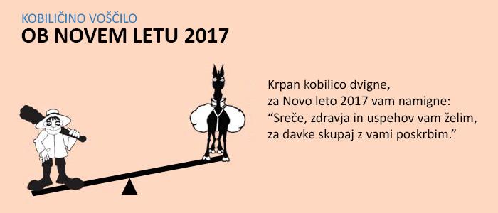 Voščilo za novo leto 2017